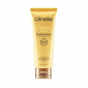 Clinelle Caviar Gold Firming Cleanser 100ml Contains 24K Nano Gold FB