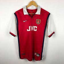 Rare Arsenal London 1998 1999 Home football shirt soccer jersey Nike JVS boys XL