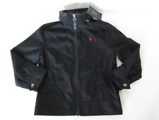 POLO Ralph Lauren Toddler Boy's BLACK Lined Hidden Hood Jacket, size 4/4T
