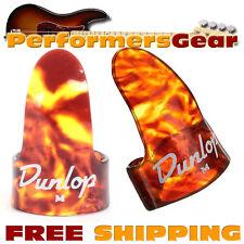 Jim Dunlop 9010R Finger Picks, Vintage Look Medium Shell 12 Pack NEW