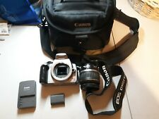 CANON EOS 350D 8.0 MP DIGITAL CAMERA DS126071 W' 18-55mm LENS Free Shipping