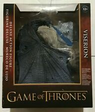 McFarlane Toys Game of Thrones Viserion Ice Dragon Deluxe Box, Blue by McFarlane
