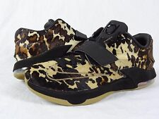 Nike KD VII EXT QS sz 10 DS 716654 001 Longhorn State USA Pony Pearl Black xi iv