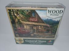 General Store Coke Coca Cola 1000 Piece Wooden Jigsaw Puzzle New Majestic