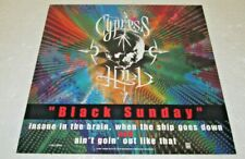 """Cypress Hill 12"""" x 12"""" 2 Sided Promotional Flat Promo Poster Black Sunday"""