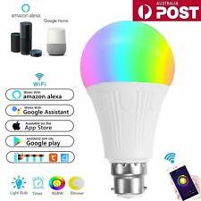B22 WiFi Smart LED Light Bulb Globe For Alexa Google Home RGB Color Lamp Indoor