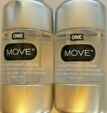 ONE Move Personal Lubricant 3.38 oz (Pack of 2) READ BELOW