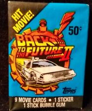 1989 Topps Back To The Future Unopened Wax Pack *