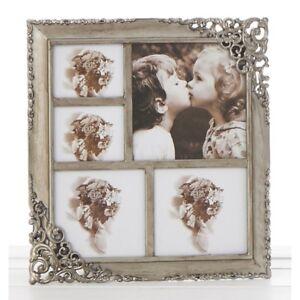 """Shudehill Gallery /""""Family/"""" White Multi Photo Frame Gift"""
