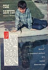 1958 Tv Article~Jerry Mathers is Beaver Clever on Leave It To Beaver Tv Series