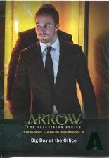 Arrow Season 2 Green Foil Parallel Base Card #2 Big Day at the Office