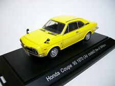 Ebbro 1/43 Honda Coupe 9S 1970 (air cooled) yellow