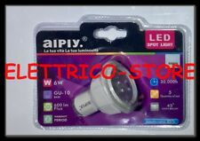 FARETTO LAMPADINA 5 LED 6W GU10 AIPLY LUCE FREDDA 600 LUMEN LAMPADINA GU10