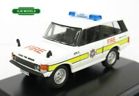 BNIB OO GAUGE OXFORD 1:76 76RCL004 Range Rover Classic London Fire Brigade