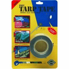 (6) Extra Thick 2 in. x 35 Ft. Poly Tarpaulin Cover Tents Awnings Repair Tape