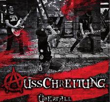 Ausschreitung - Überfall CD-R Neu Punk Oi Skinhead DeutschPunk Punkrock Politpun