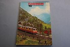 X050 FLEISCHMANN Train catalogue auto rallye Ho N 1972 76 p 29,5*20,7 DM Katalog
