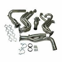 Performance Stainless Long Tube Exhaust Headers Y Pipe for Chevy/GMC Truck V8