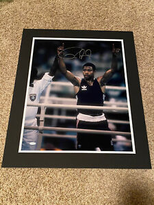 Roy Jones Jr Signed 16x20 Matted Olympics Boxing Steiner Sports COA