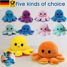 Octopus Plüsch Oktopus Plüschtier Doppelseitiges Kuscheltier Stimmung octopus