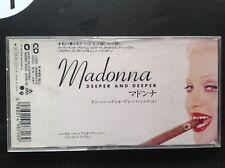 MADONNA Deeper And Deeper - WPDP-6316 8cm CD - JAPAN - 1992