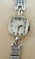 Vintage Universal Geneve 17 Jewel Mechanical 10k GF Gold Filled Ladies' Watch