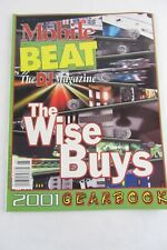 Mobile Beat The DJ Magazine 2000 - 2001 Gearbook Wise Buys, Amplifiers Mixers