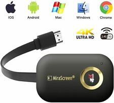 MiraScreen Miracast 4K 2.4G/5G Wireless Display Dongle for iOS Android G9 Plus