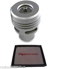 Ford Focus St Titanio Collins válvula de descarga y Kit de Pipercross Panel Filtro De Aire