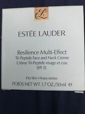 NEW ESTEE LAUDER RESILIENCE MULTI-EFFECT FACE NECK DRY SKIN 50 ML