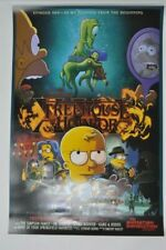 The Simpsons Treehouse of Horror Cartoon Silk Poster 12x18 32x48 inch