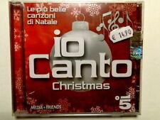 IO CANTO CHRISTMAS - LE PIU BELLE CANZONI DI NATALE - CD 2010  NUOVO E SIGILLATO
