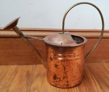 Vintage Copper & Brass House Plant Watering Can