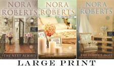 LARGE PRINT EDITIONS Nora Roberts INN BOONSBORO TRILOGY Collection Set Books 1-3