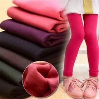 Autumn Winter Girls Leggings Velvet Thickened Pants For 3-12 year Kids Leggings