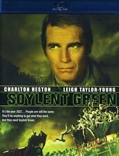 Charlton Heston Soylent Green DVDs & Blu-ray Discs