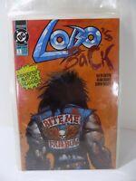 Lobo's Back #1 DC Comic Book 1992 Mini Series First Print VF/NM Bagged & Boarded