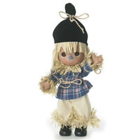 """The Wizard of OZ Precious Moments 7"""" Scarecrow Clever As Can Doll by Linda Rick"""