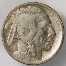 1913-D TYPE-2 5c INDIAN HEAD BUFFALO NICKEL *KEY DATE COIN* LOT#Q287