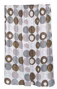 "Carnation Home Fashions ""Madison"" Extra Long Fabric Shower Curtain CAR-FSCXL-MDN"