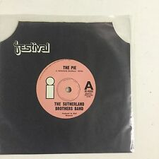 The Sutherland Brothers Band The Pie EXc Single