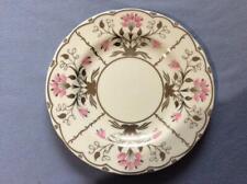 "Wedgwood Pink Papyrus bone china 8 1/4"" salad plate W4079 brown mark"