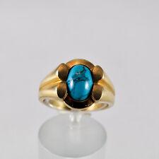 Türkis Goldring Gelbgold 333 Ring Größe 56,5 Idar-Oberstein Turquoise