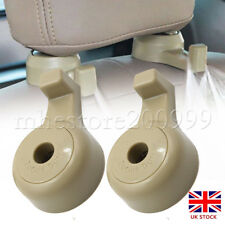 2x Auto Accessories Seat Back Headrest Holder Hanger Hook For Bag Parts -UK