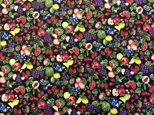Paintbush Studio-Farmer 's John Mini marché-Mixed Fruits - 100% Coton Tissu