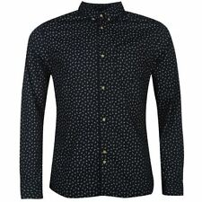 Paisley Button-Front Casual Shirts for Men