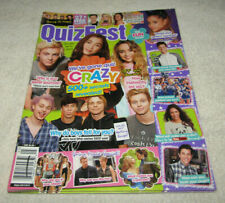 QuizFest teen magazine May 2015 1D/One Direction/Shawn Mendes/5 SOS/Quiz Crazy