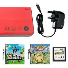 Red Nintendo DSi XL 25th Anniversary Edition with New Mario Bros.
