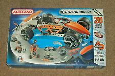 Meccano Multi Models 20 Model Set 6550 -New in box