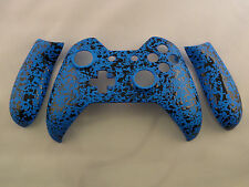 3D Splashing Blue, Front Shell and Sides for Xbox One Controller - New